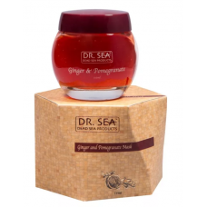 Dr. Sea Dead Sea Products Ginger and Pomegranate Mask - Маска для лица «Имбирь и гранат», 115 мл.